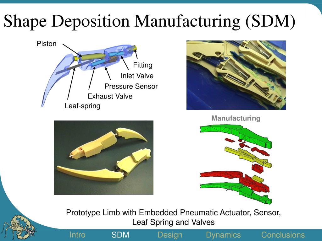 Shape Deposition Manufacturing (SDM)