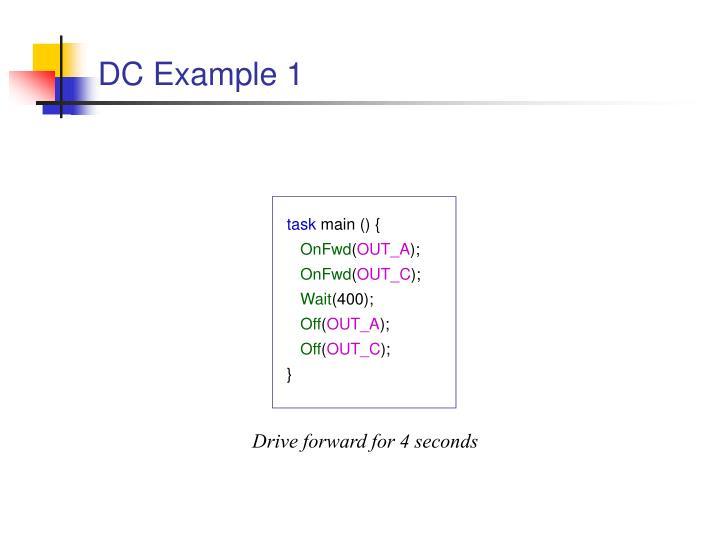 DC Example 1