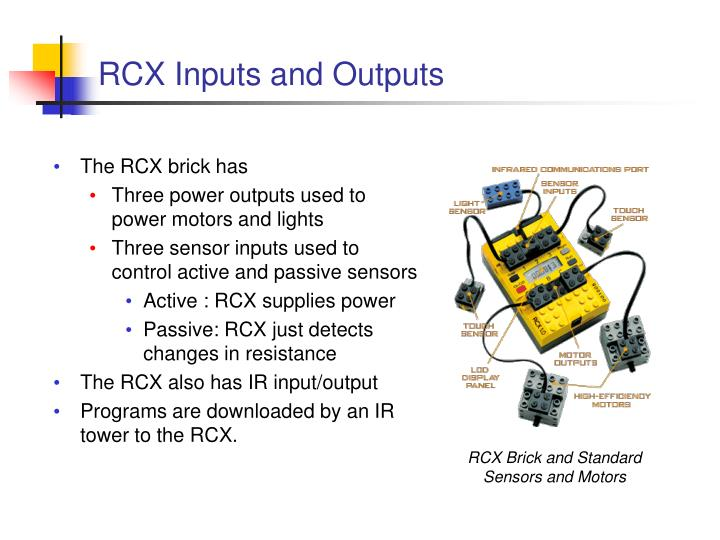 RCX Inputs and Outputs