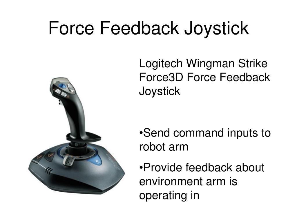 Force Feedback Joystick