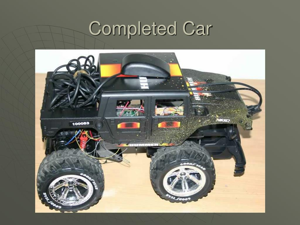 Completed Car