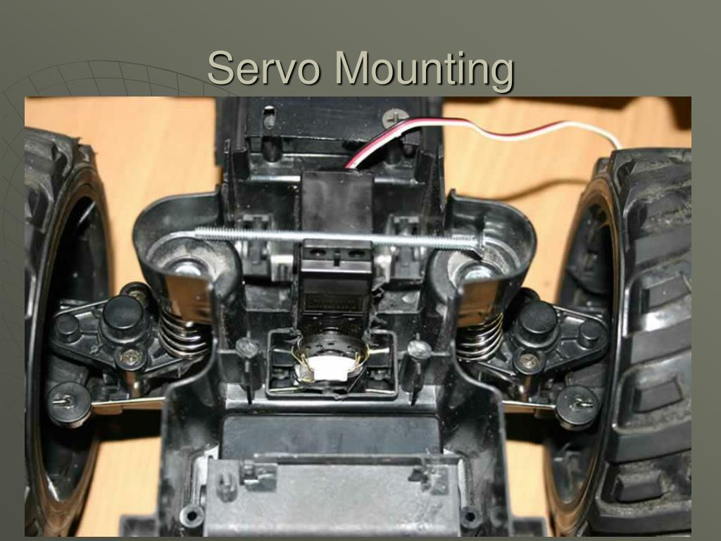 Servo Mounting