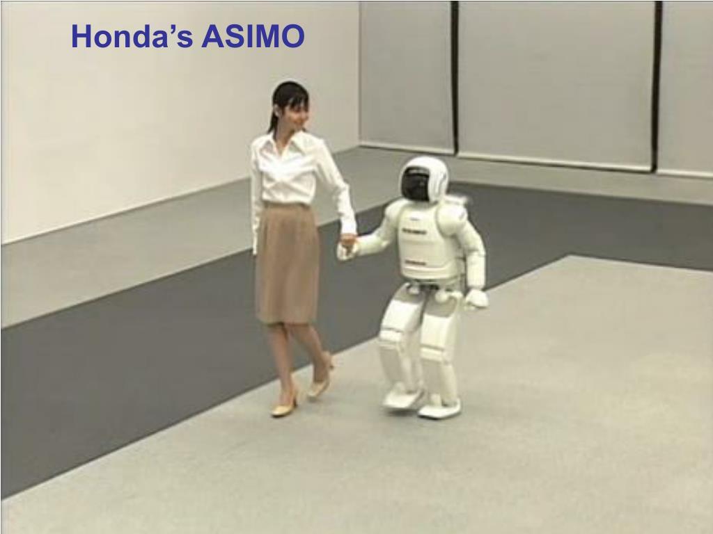 Honda's ASIMO