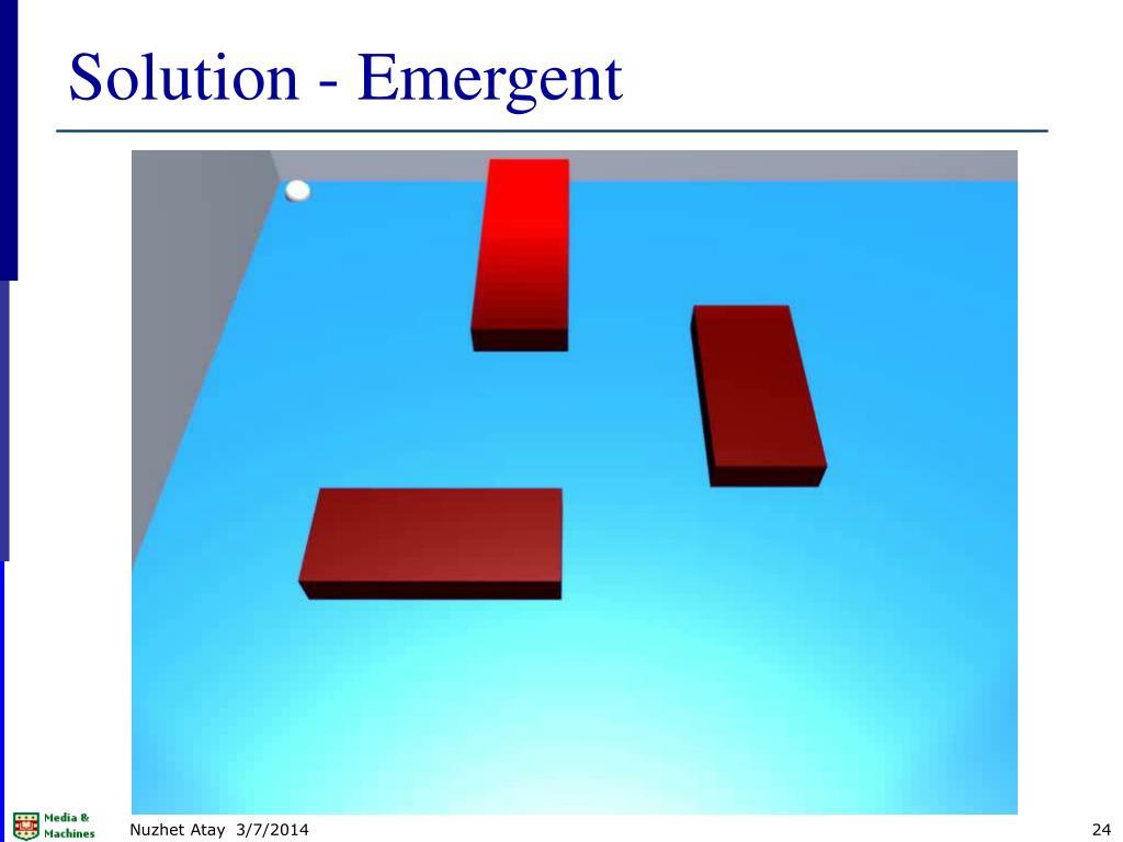 Solution - Emergent