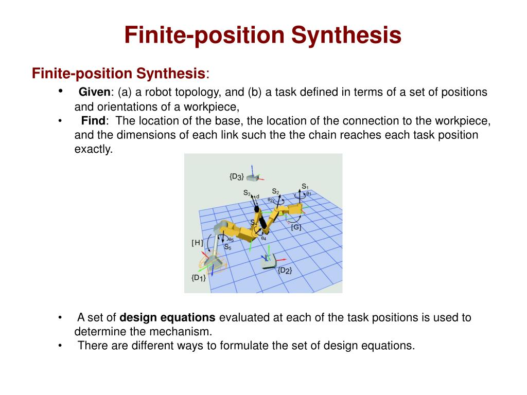 Finite-position Synthesis