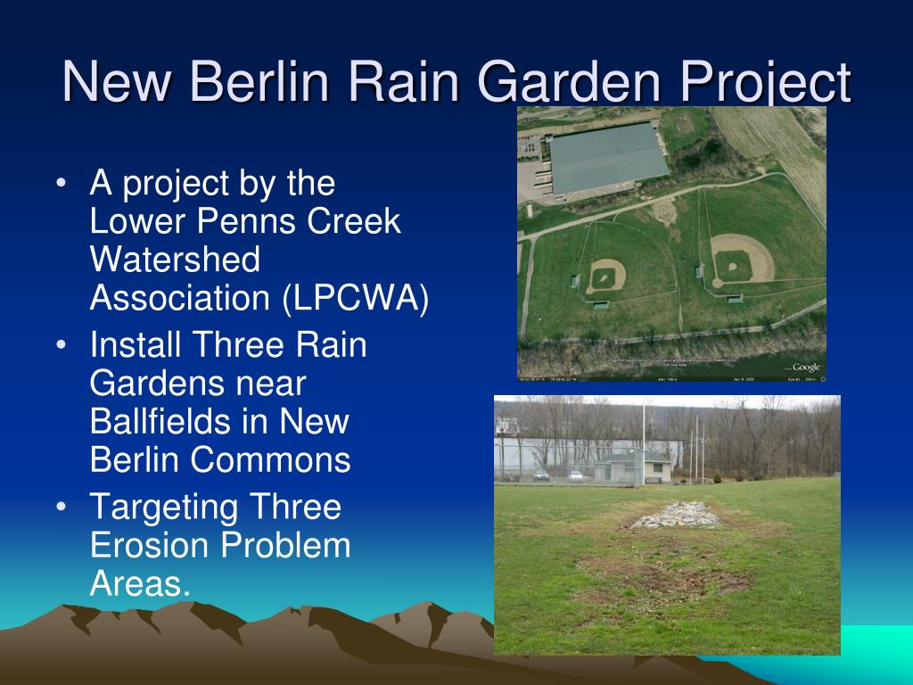 New Berlin Rain Garden Project