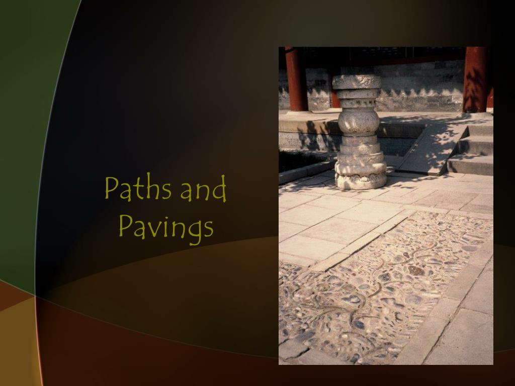 Paths and Pavings