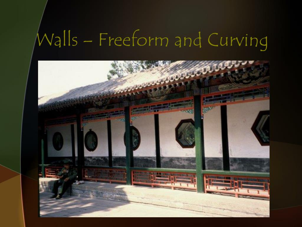 Walls – Freeform and Curving
