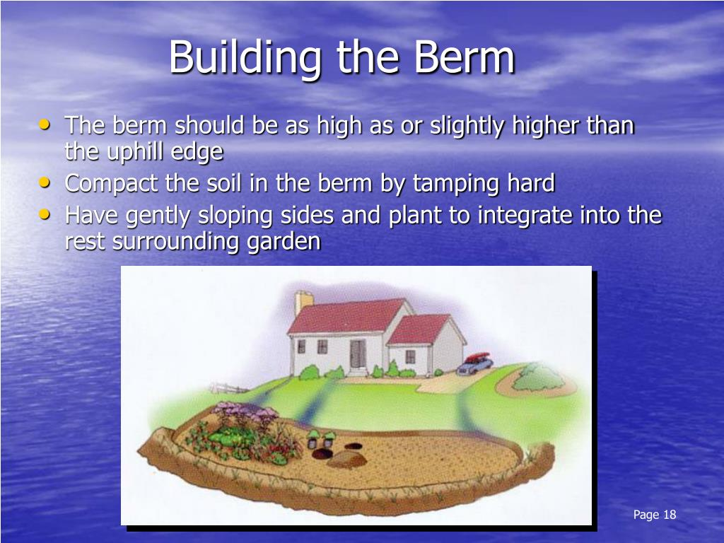 Building the Berm