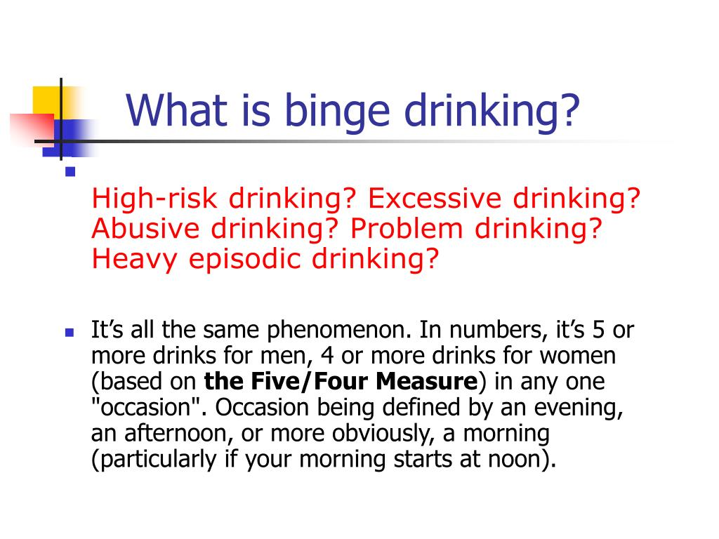 binge drinker in college July/august 2011 issue culture of intoxication — college binge drinking by  matthew robb, msw social work today vol 11 no 4 p 16 university officials.
