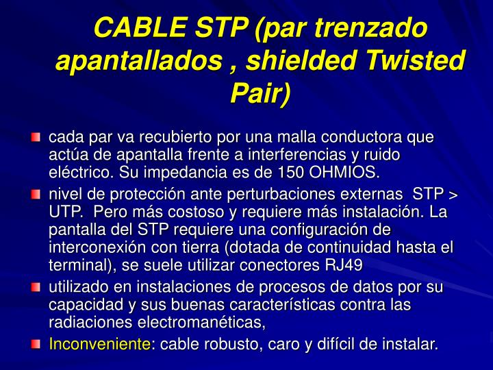 Cable stp par trenzado apantallados shielded twisted pair l.jpg