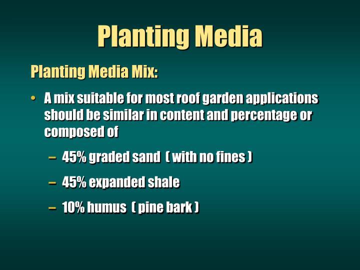 Planting Media