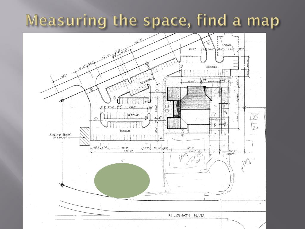 Measuring the space, find a map