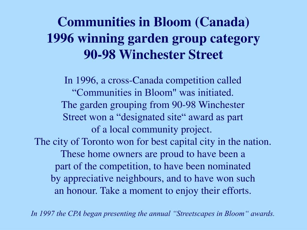 Communities in Bloom (Canada)