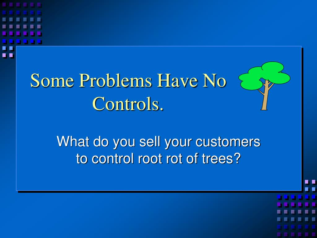 Some Problems Have No Controls.