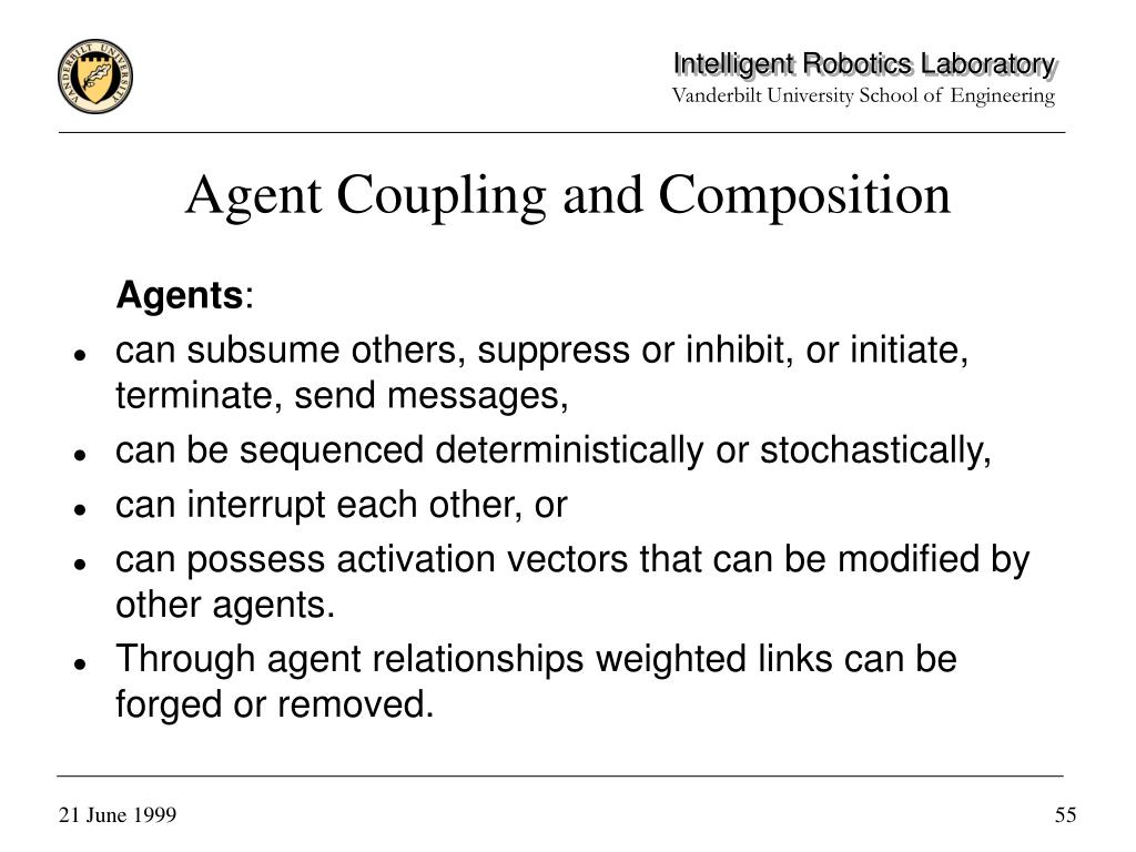 Agent Coupling and Composition