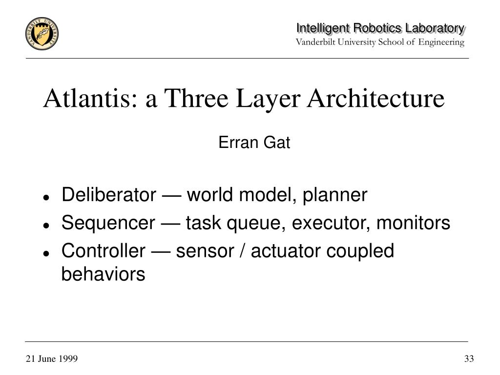 Atlantis: a Three Layer Architecture
