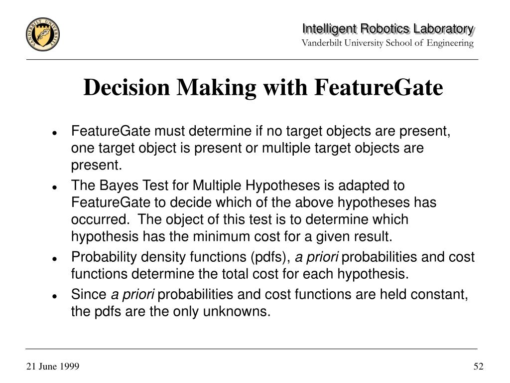 Decision Making with FeatureGate