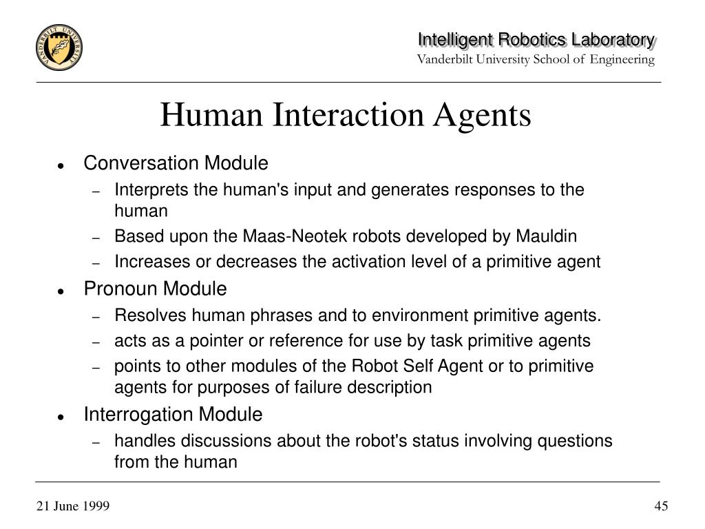 Human Interaction Agents