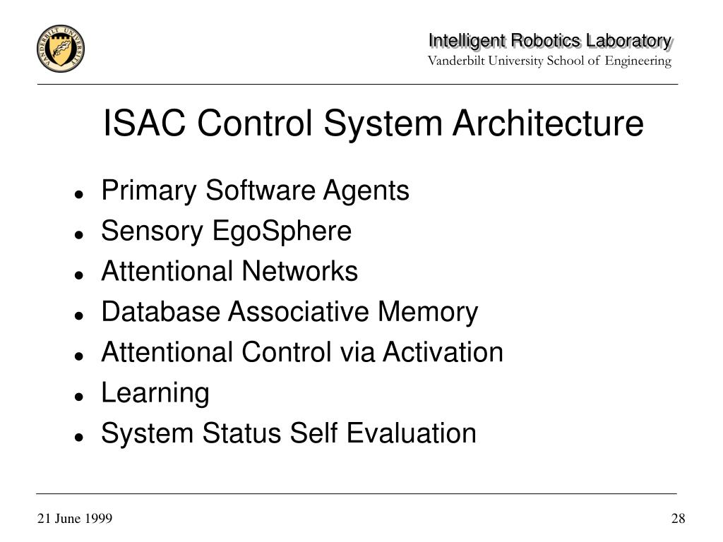 ISAC Control System Architecture