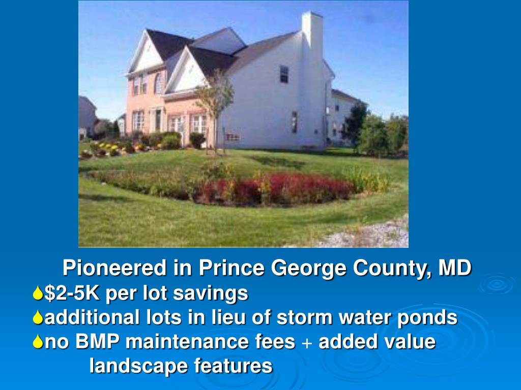Pioneered in Prince George County, MD