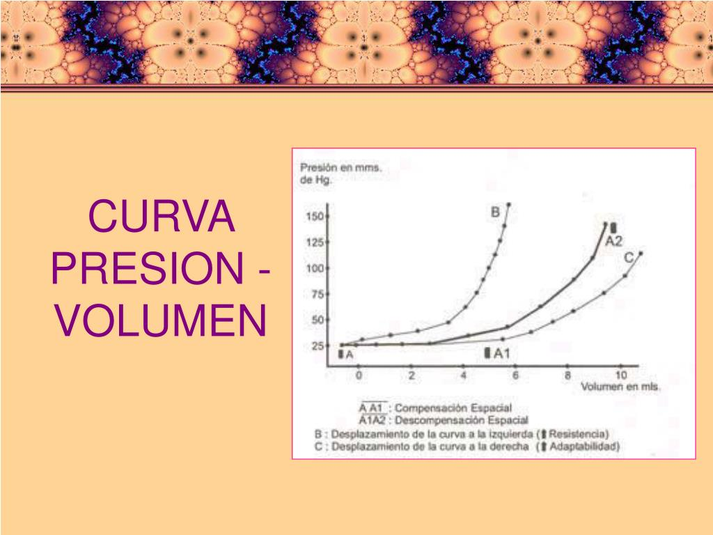 CURVA PRESION - VOLUMEN