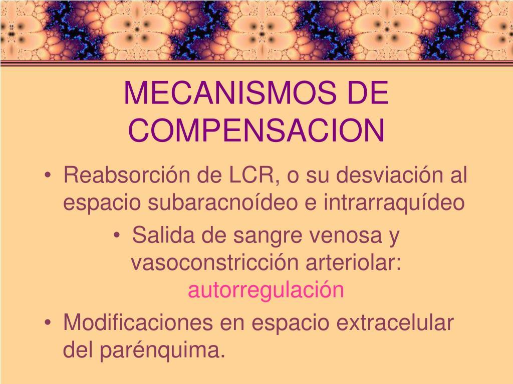 MECANISMOS DE COMPENSACION