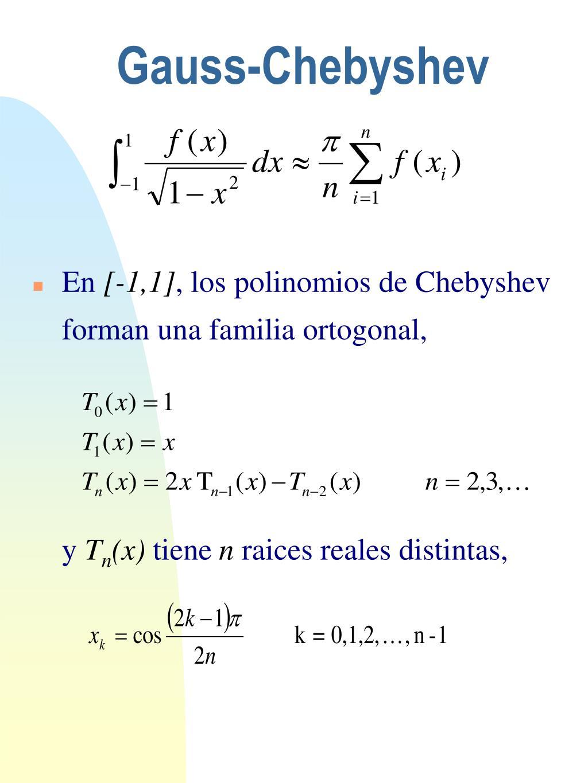 Gauss-Chebyshev
