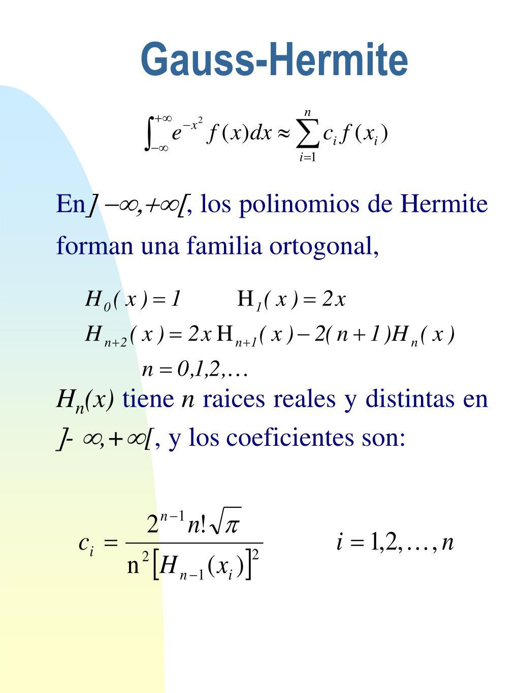 Gauss-Hermite