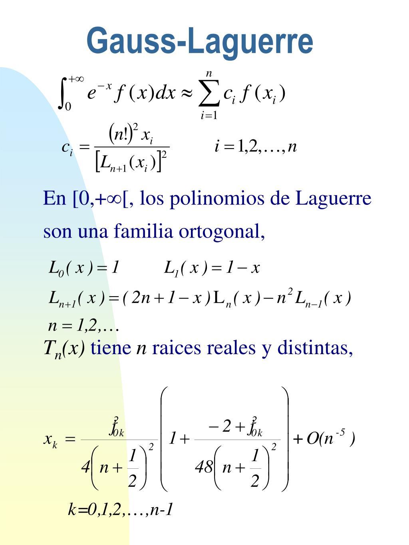 Gauss-Laguerre