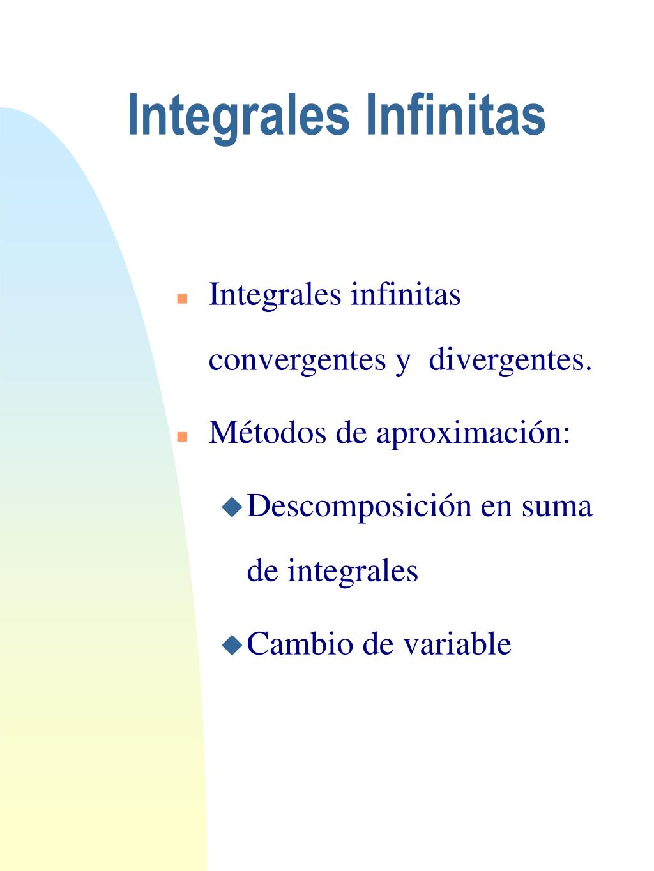 Integrales Infinitas