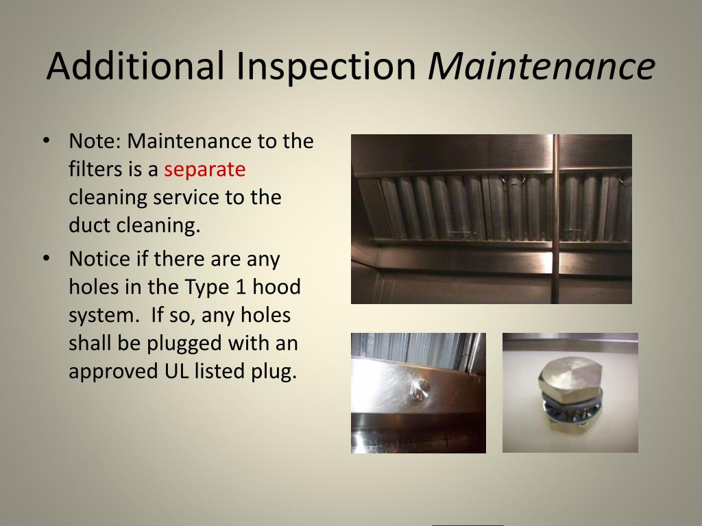 Additional Inspection