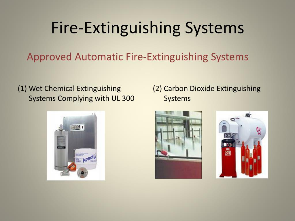 Fire-Extinguishing Systems