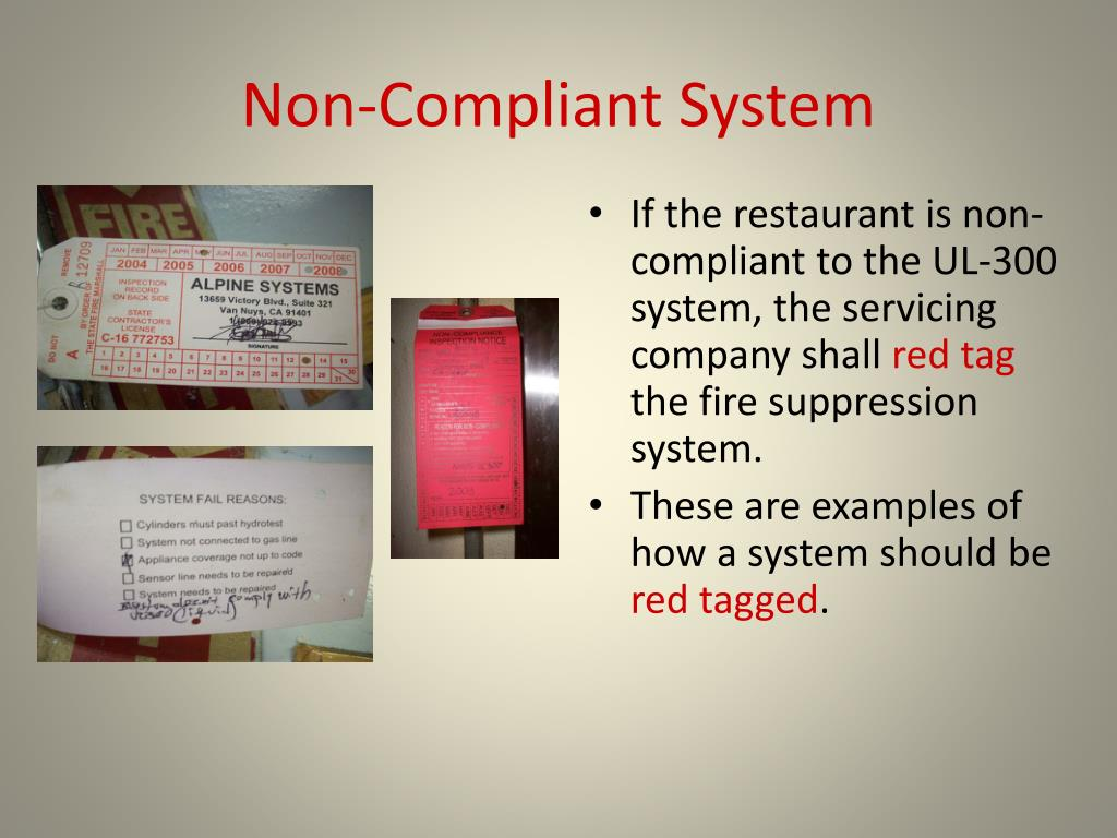 Non-Compliant System