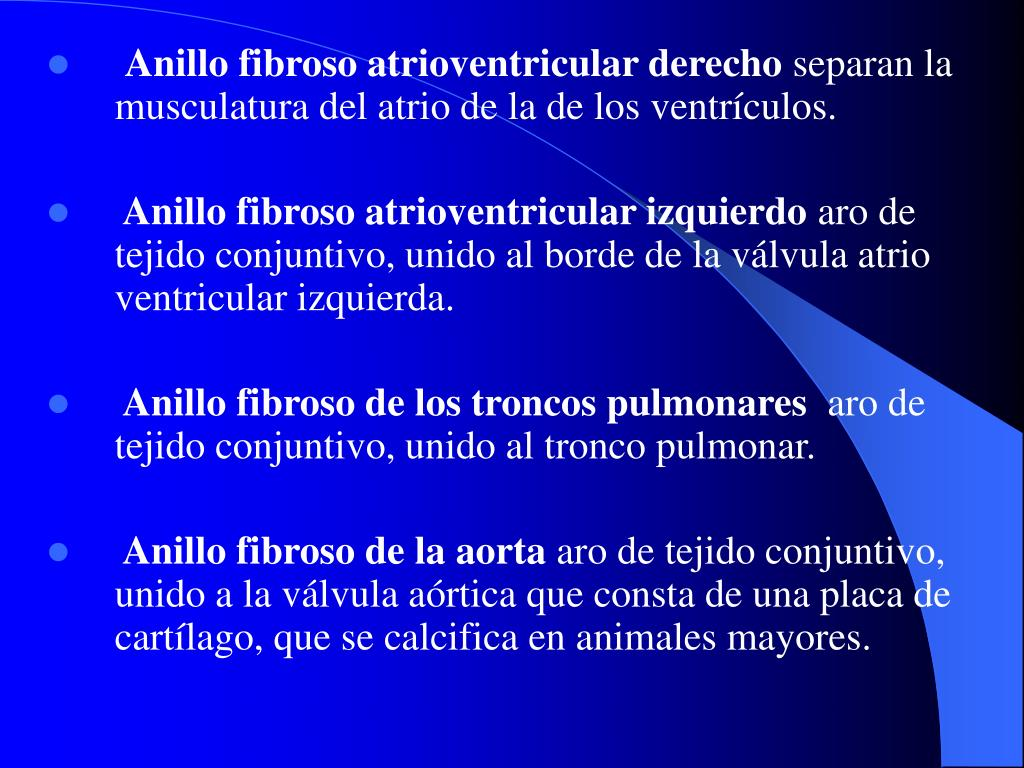 Anillo fibroso atrioventricular derecho