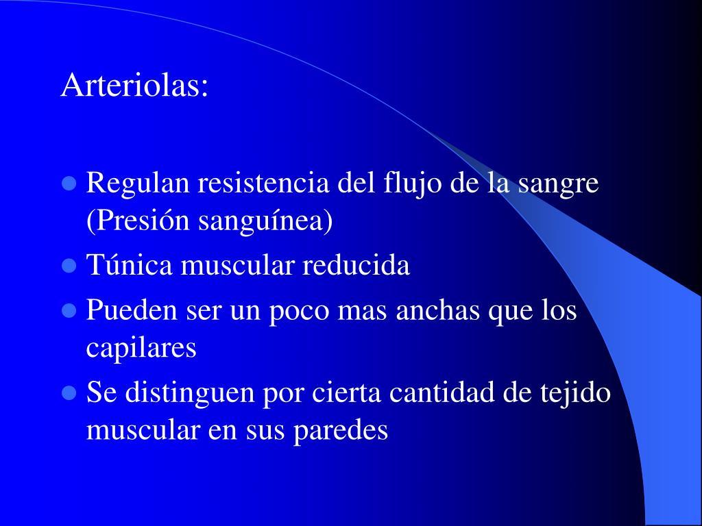 Arteriolas: