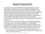 quiet enjoyment56