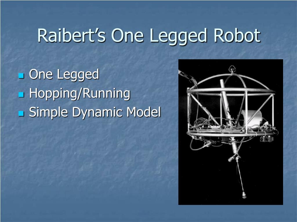 Raibert's One Legged Robot