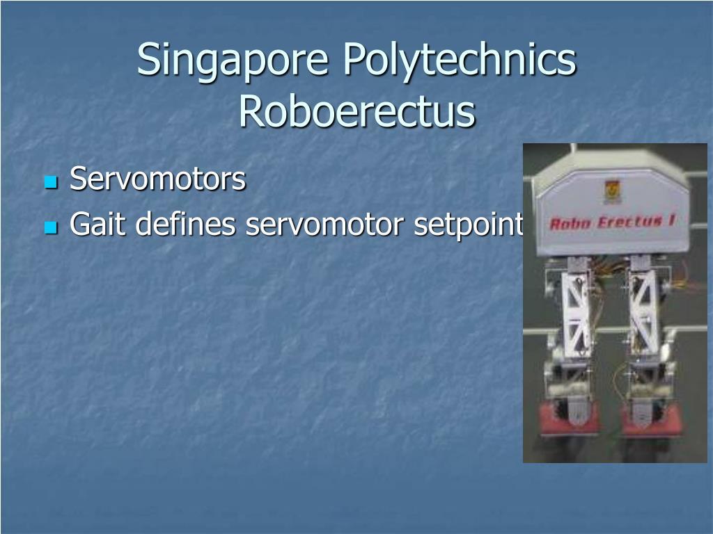 Singapore Polytechnics Roboerectus