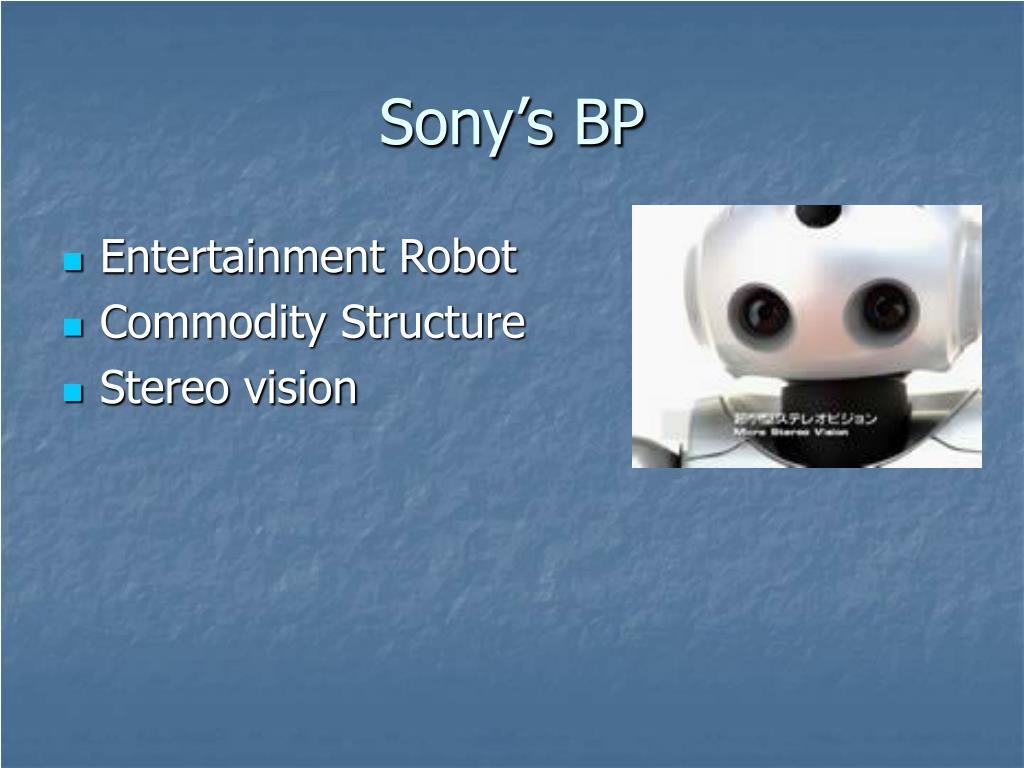 Sony's BP