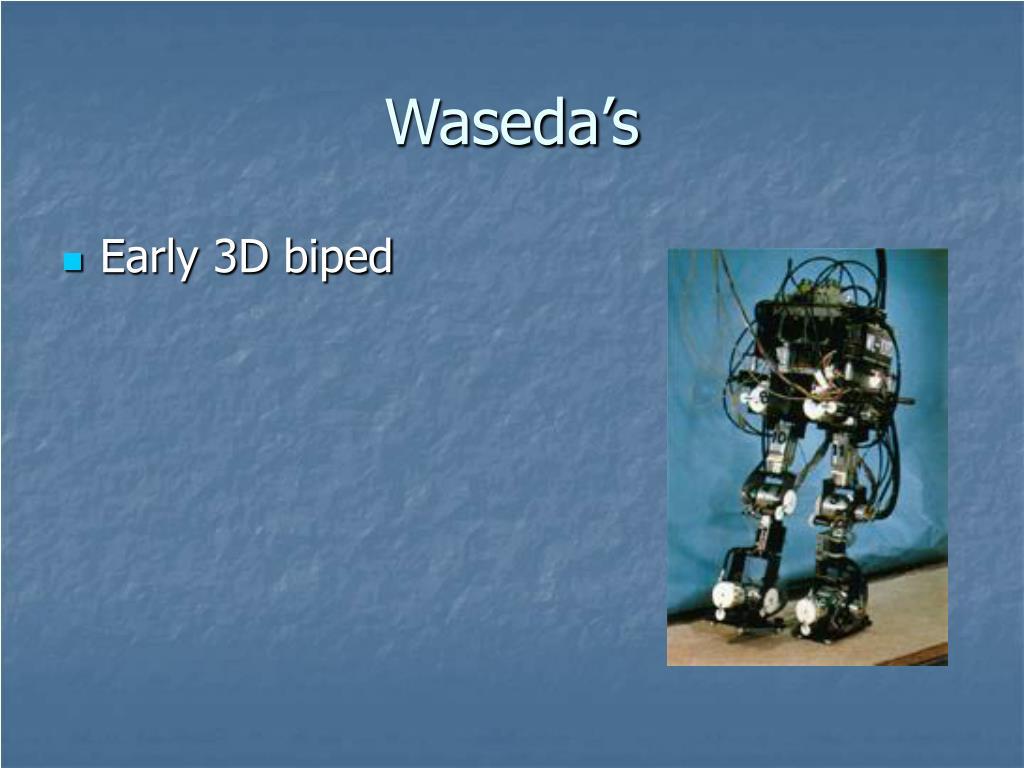 Waseda's