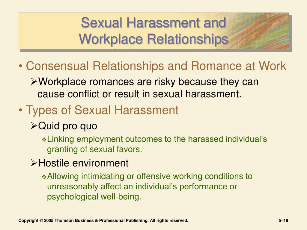 The Causes And Effects Of Sexual Harassment And