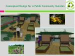 conceptual design for a public community garden9