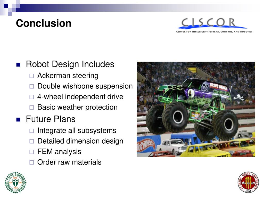 Robot Design Includes