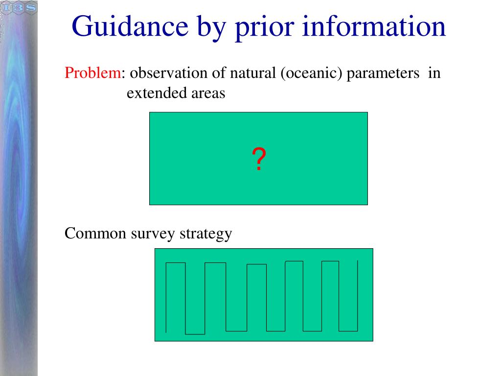 Guidance by prior information