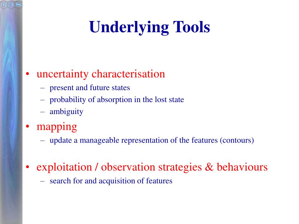 Underlying Tools