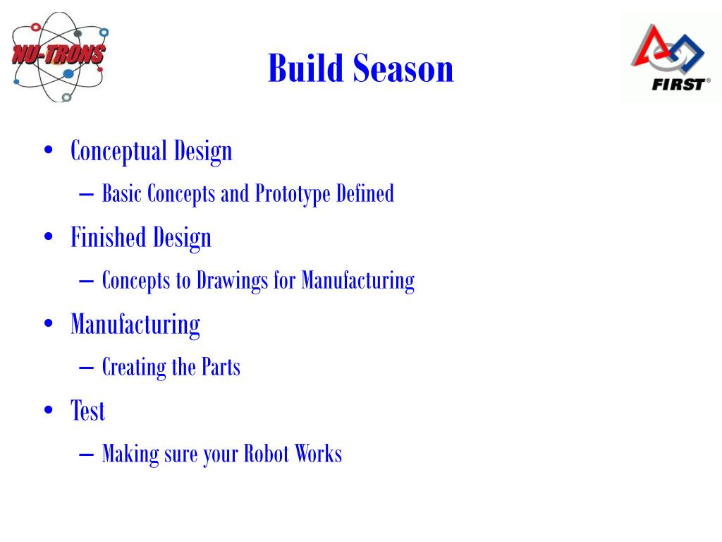 Build Season