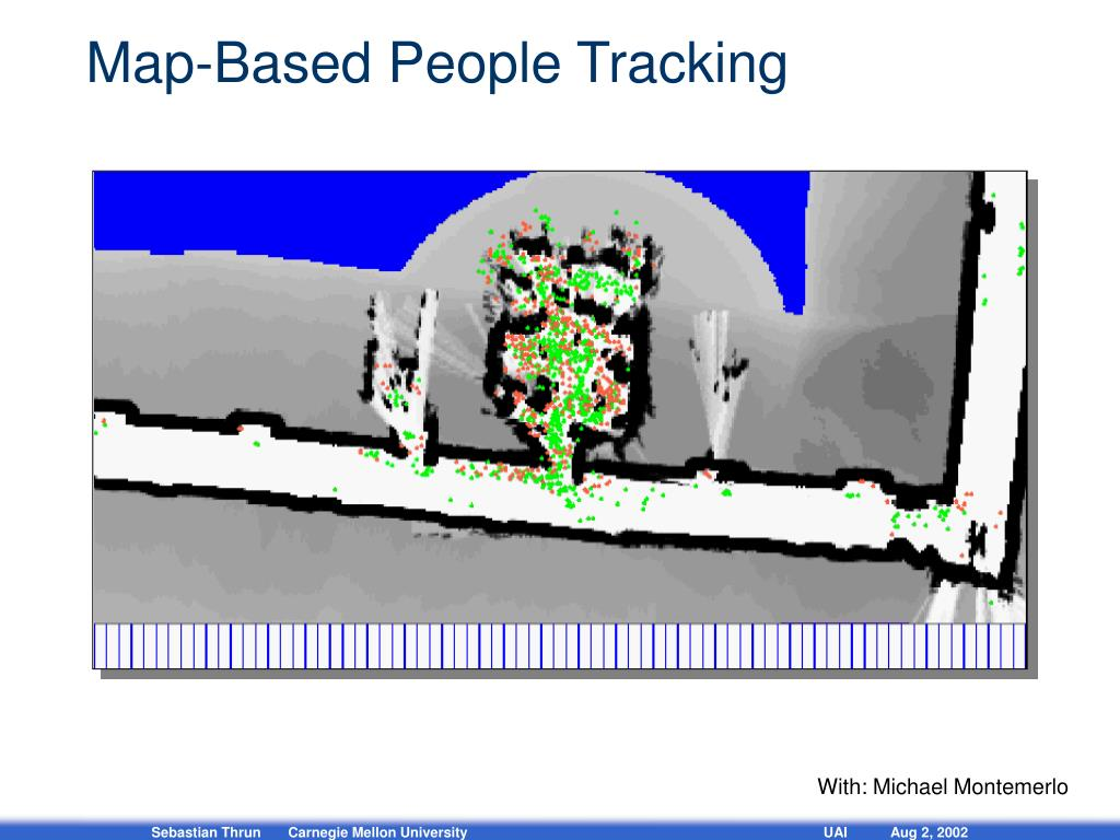 Map-Based People Tracking