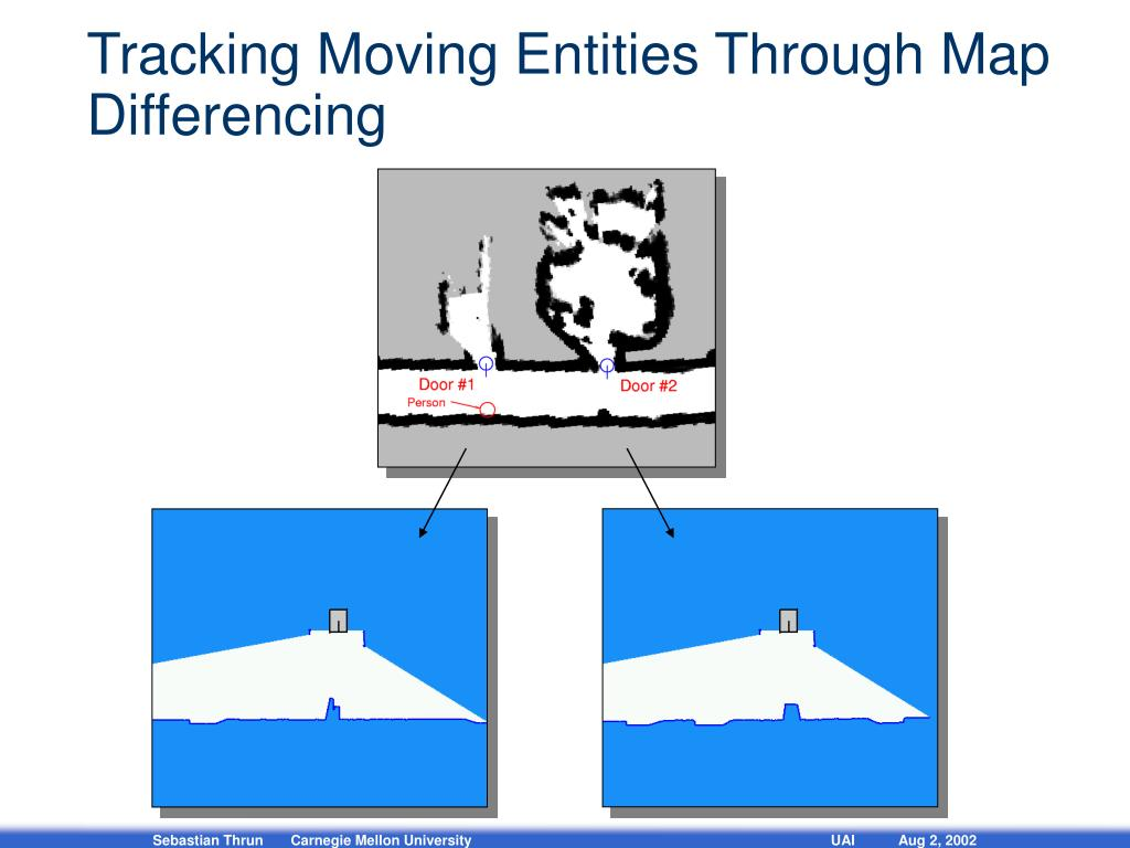 Tracking Moving Entities Through Map Differencing