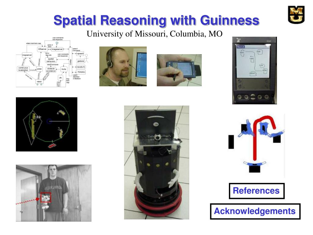 Spatial Reasoning with Guinness